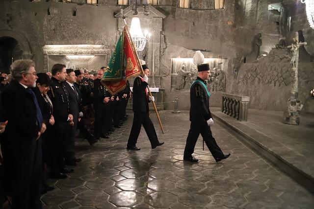 Msza św. ku czci św. Barbary, Kaplica św. Kingi w Kopalni Soli w Wieliczce | Abp Marek Jędraszewski, 3.12.2018