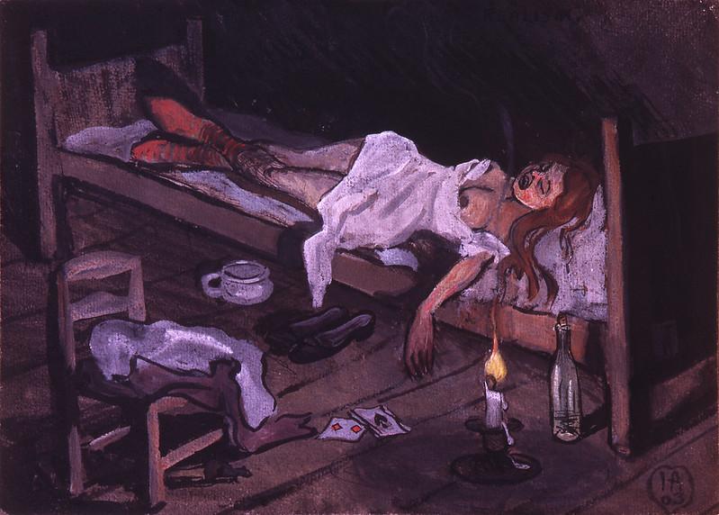 Ivar Arosenius - Title Unknown, 1903