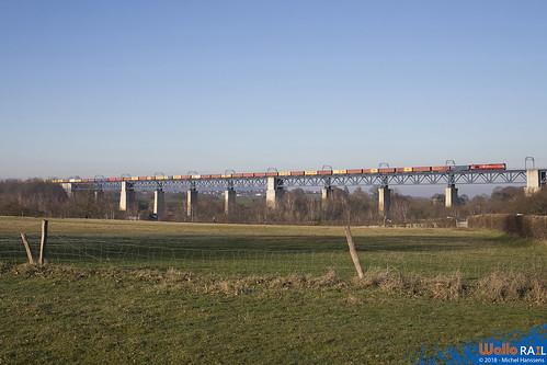 DE 6311 Crossrail . Z 41533 . Moresnet . 28.12.18.