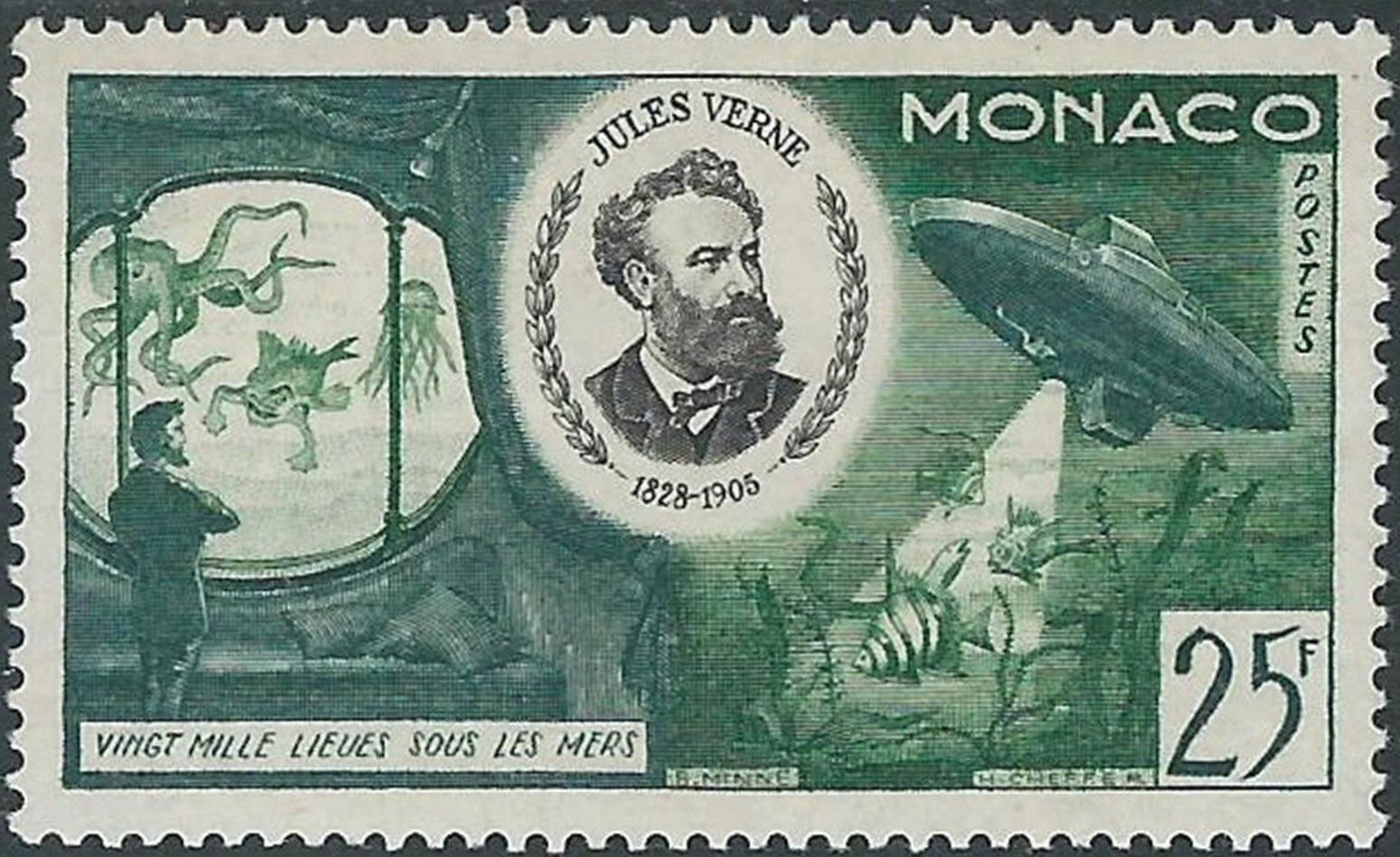 Monaco - Scott #348 (1955)