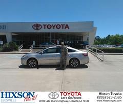 #HappyBirthday to Shane from Jason Olfers at Hixson Toyota of Leesville!