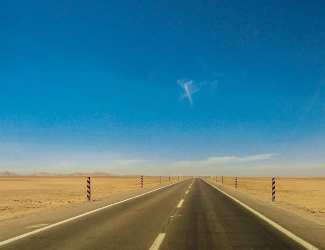 Ruta en el desierto, Canon POWERSHOT SX160 IS