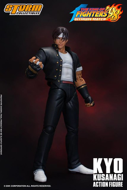 STORM COLLECTIBLES《拳皇'98 終極對決》「草薙 京」1/12比例尺寸可動作品!Kyo Kusanagi KOF 98'UM Collectible Action Figure