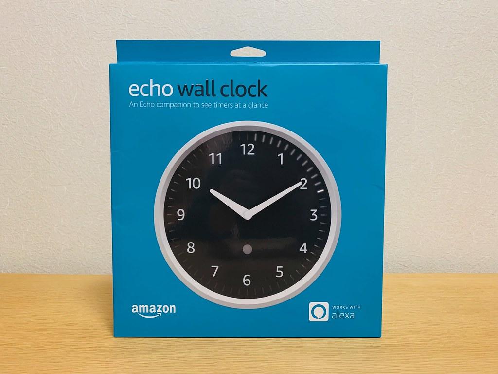Amazon Echo Wall Clock