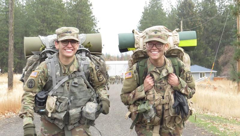 ROTC Cadets at Fall FTX