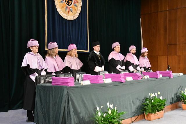 Acto de Graduación de la Facultad de Psicología de la UNED (23/11/18)