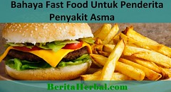 Bahayanya Fast Food Bagi Penderita Penyakit Asma