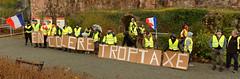 Mouvement des gilets jaunes, Belfort, 08 Dec 2018