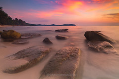 Ko Kut (Koh Kood) island - beautiful sunset.