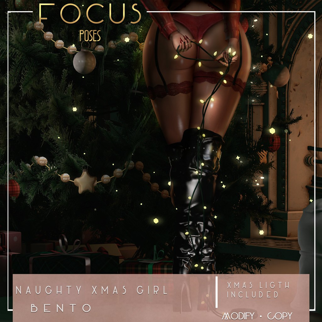 Naughty Christmas Girl - TeleportHub.com Live!