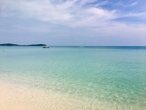 今日のサムイ島 12月26日 西風来た!チャウエンビーチが♥