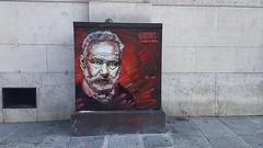 Street-Art Malerei rund ums Pariser Pantheon