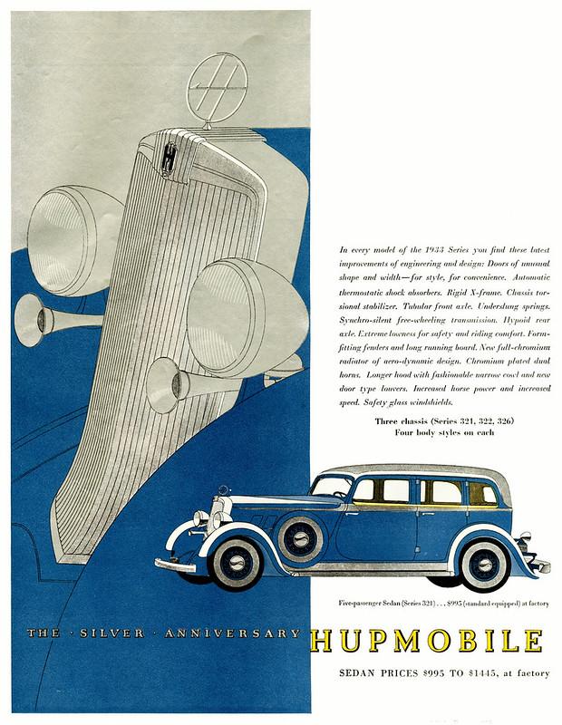 1933 Hupmobile Series 321