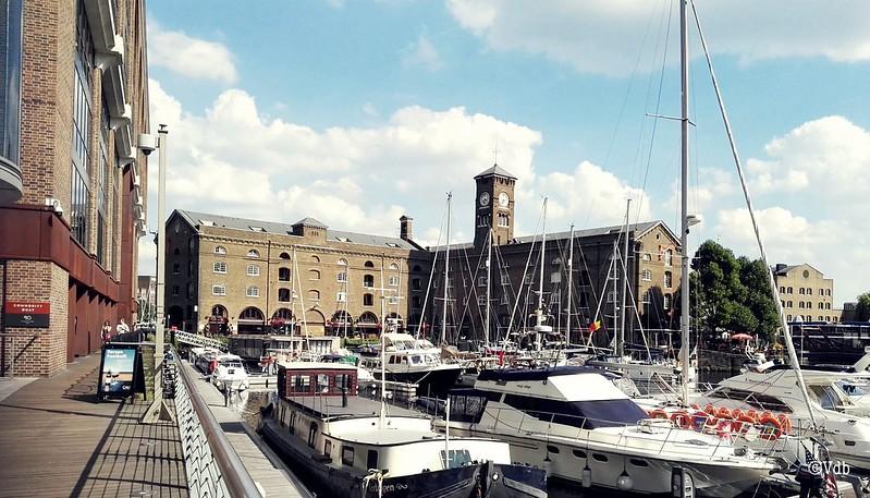 St Katharine Docks reisblog