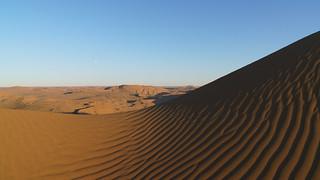 Lots of sand... (Badain Jaran desert, trekking day 8)