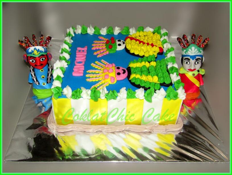 cake Ondel Ondel Miquel 20 cm