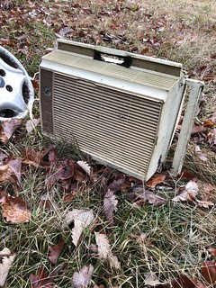 Found a very rare 1972 Hot Point air conditioning unit!