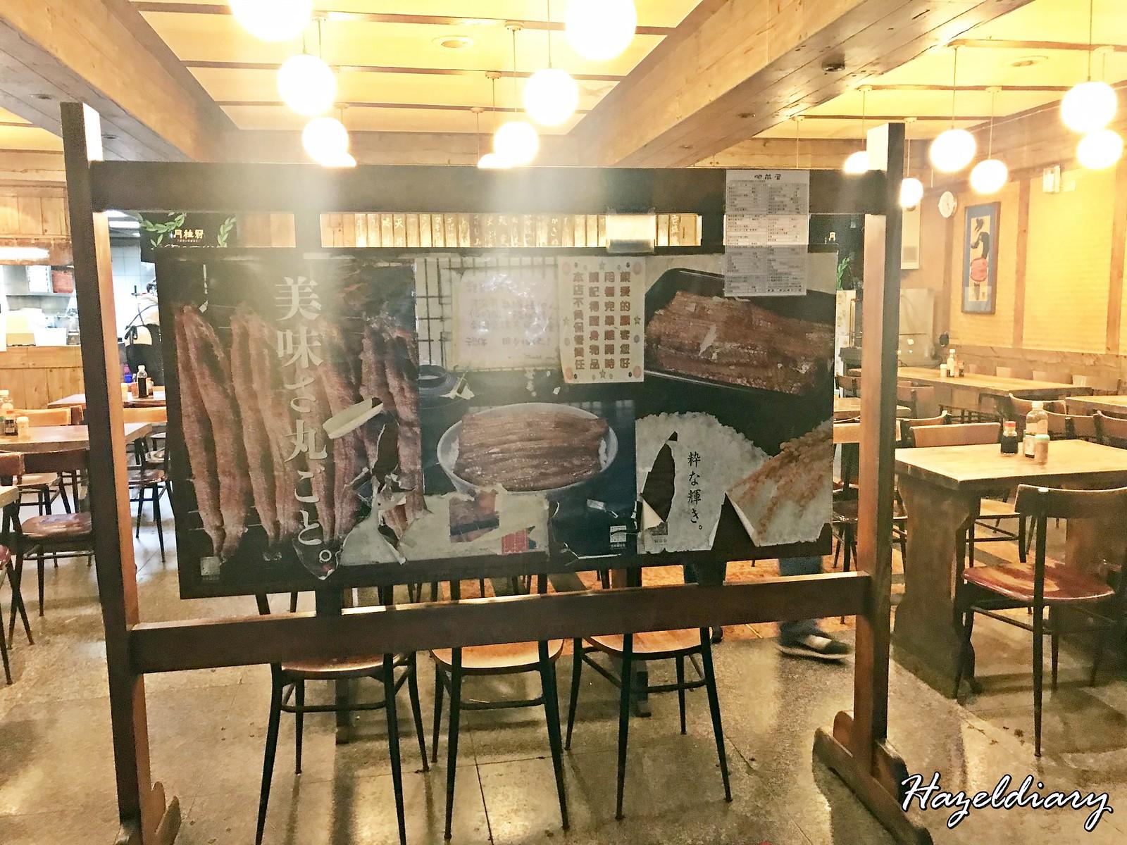 Fei Qian Wu Taipei-Unagi Restaurant-1