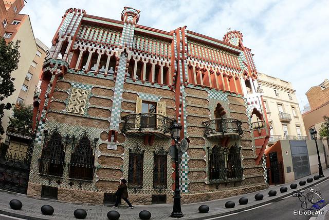 Casa Vicens primera casa modernista diseñada por Gaudi (2)