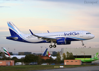 F-WWIB Airbus A320 Neo Indigo
