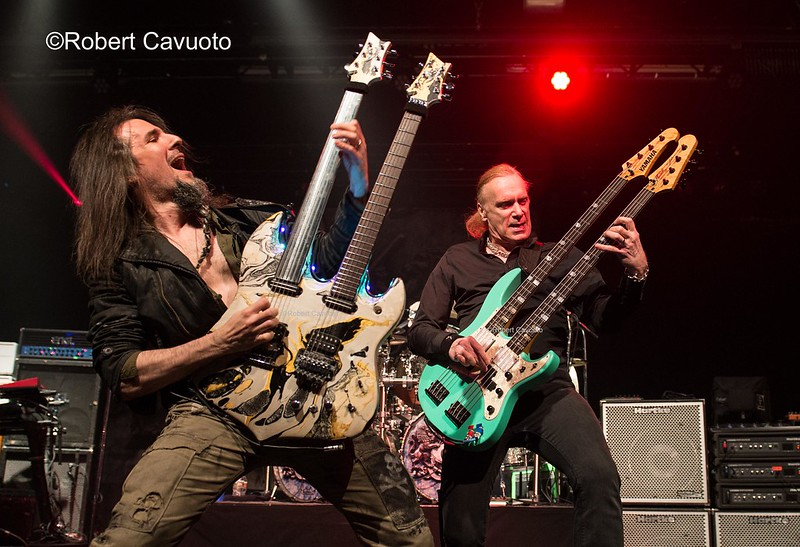 Bumblefoot & Billy Sheehan -- Photo Credit: Robert Cavuoto