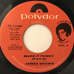 JAMES BRWON:MAKE IT FUNKY(LABEL SIDE-B)
