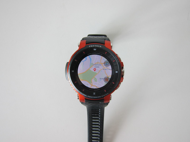 Casio WSD-F30 - Maps