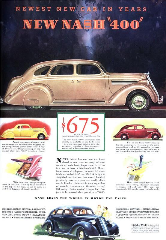 """1935 Nash """"400"""""""