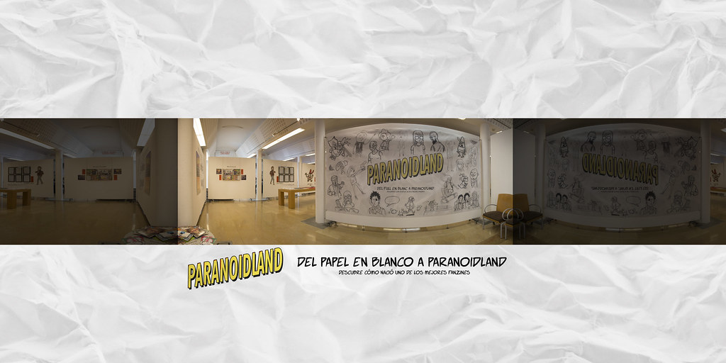 Exposición: Del papel en blanco a Paranoidland - Entrada