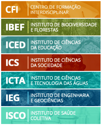 Os institutos da Ufopa