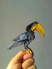 Origami Toucan / Tucan