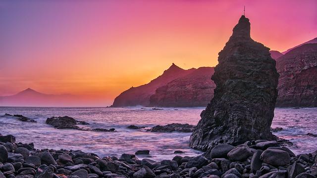 Sunrise Playa de Caleta, Panasonic DMC-GF7, Lumix G 20mm F1.7 Asph.