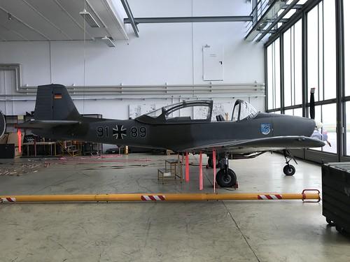 91+89, Piaggio P.149D, TSLw1, German Air Force (274), Kaufbeuren 10th October 2018