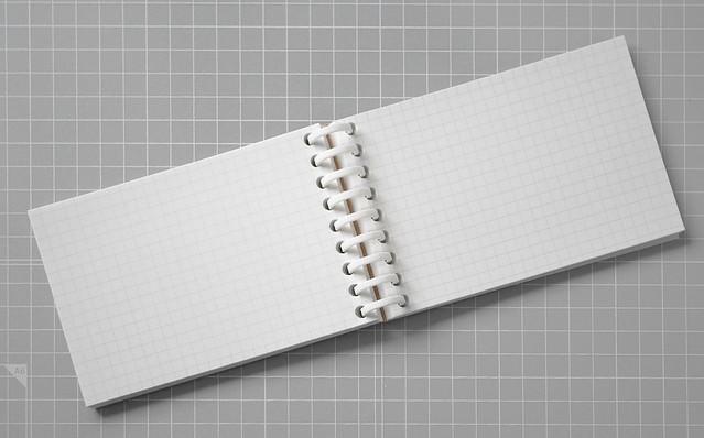 マルマン 書きやすいルーズリーフ ミニ メモ 手帳 文具