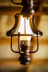 Vintage Lamp Bokeh Shot