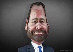 Rick Gates - Caricature