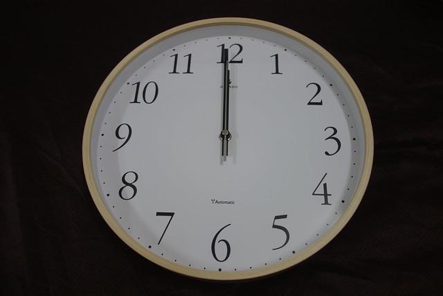 法詩計時電波鐘(3)