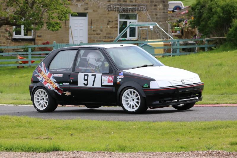 Gavin Neate, Peugeot 106 at Harewood (S Wilkinson)