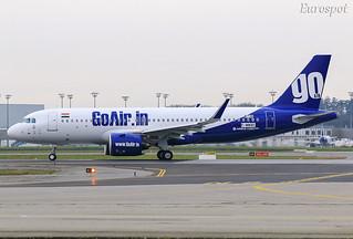 F-WWBD Airbus A320 Neo Go Air