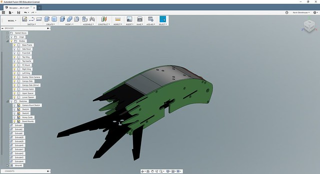 Bicopter Camera Canopy V1 (image 1)