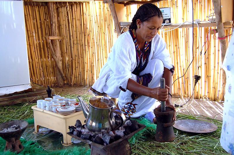 Nghi lễ cà phê coffee ceremony