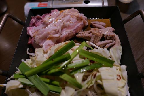 豚チャン焼(白和風出汁)