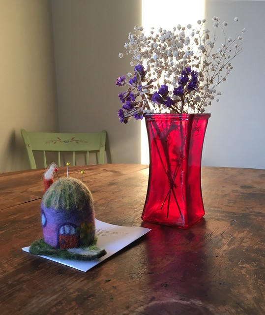 Still life with pincushion 😊