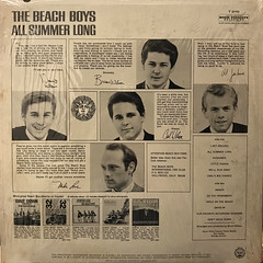 THE BEACH BOYS:ALL SUMMER LONG(JACKET B)