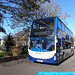 WA61KLL 15786 Stagecoach South West in Sidmouth