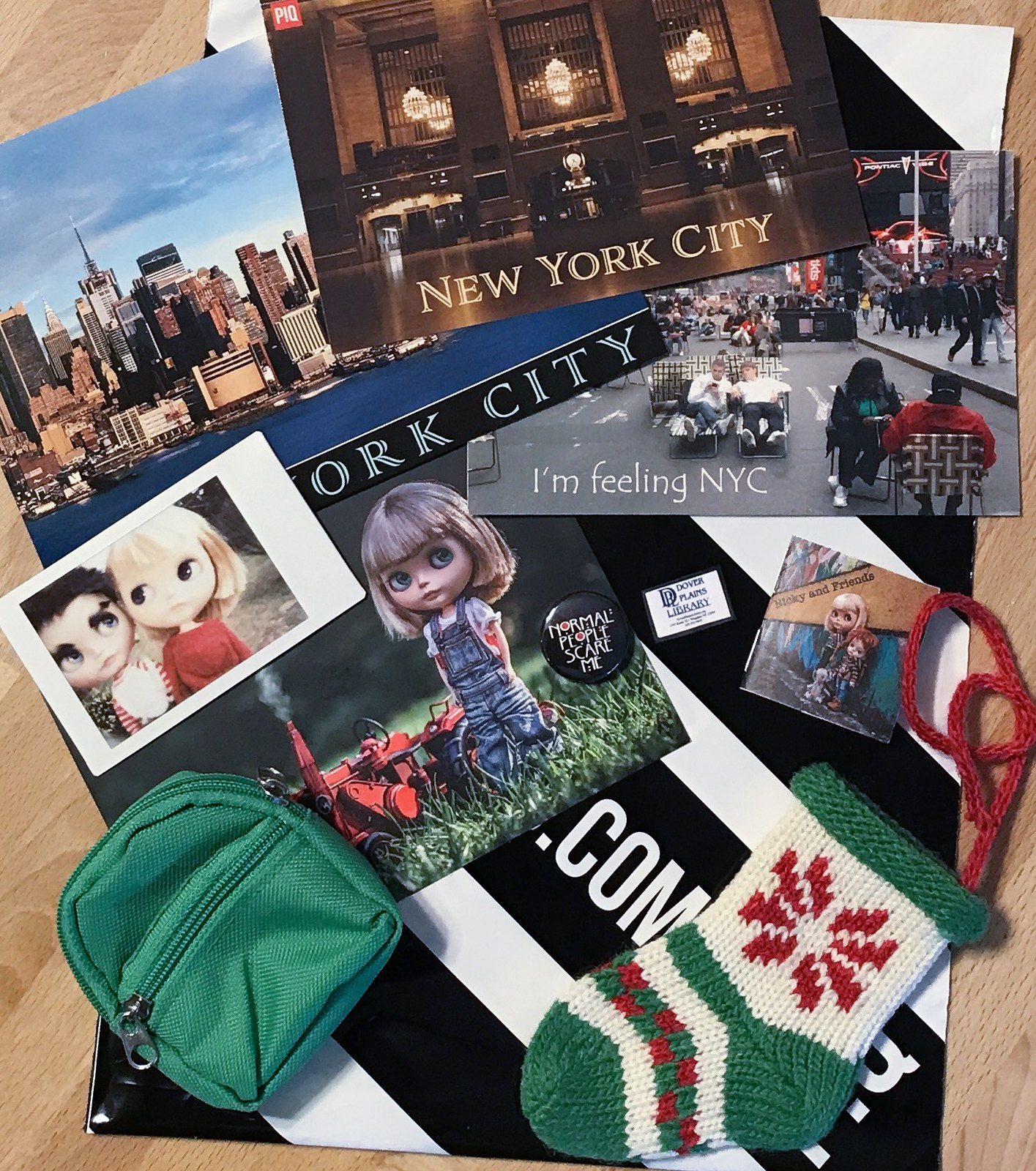 Oliver's Souvenirs from NY