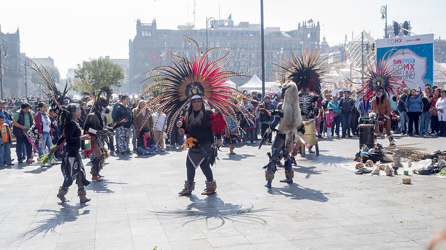 Mixtec dancers