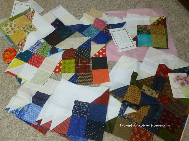 Carolina Hurricane Quilt Project at FromMyCarolinaHome.com
