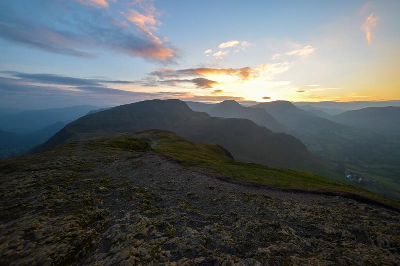 Borrowdale walks Lake District - Maiden Moor Fell