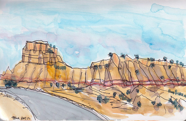181124 Hwy 12 Utah formations